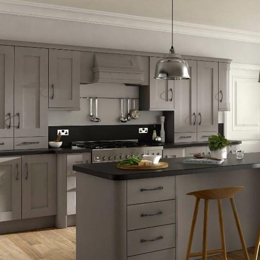 Ash Grey Cabinets Kitchen: Buckingham Stone Grey Ash